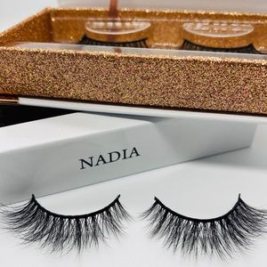 3D Premium Mink Eyelashes - Nadia